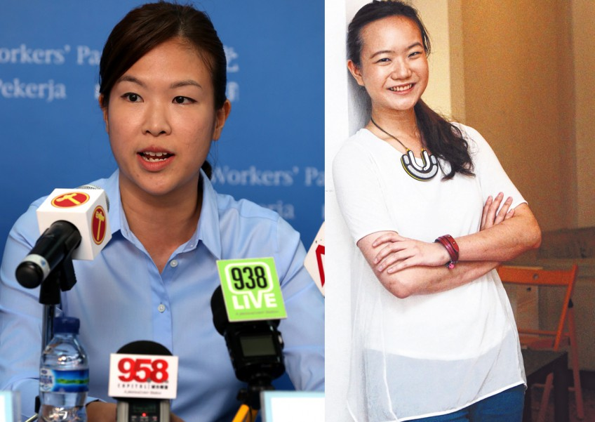 Ms He Ting Ru (L) has been compared to Ms Nicole Seah (R)
