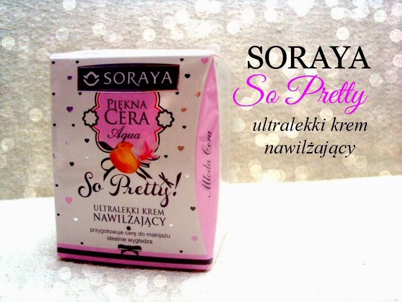 Soraya, So Pretty! Piękna Cera, Ultralekki krem nawilżający `Aqua`