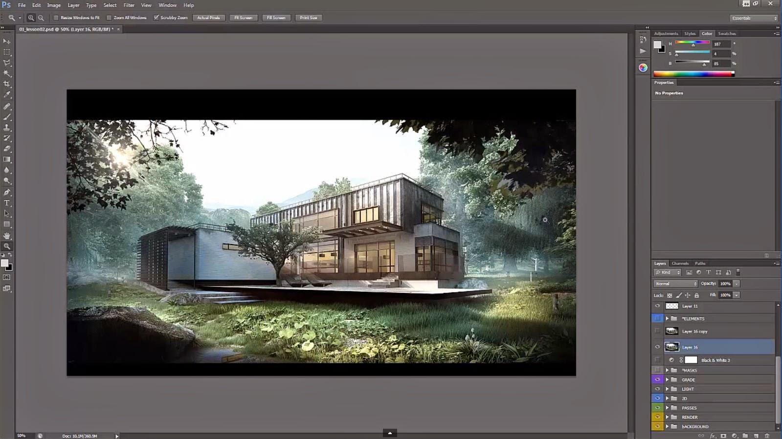 Architectural post production tutorial compositing and depth cg architectural post production tutorial compositing and depth home photoshopcompositing baditri Gallery