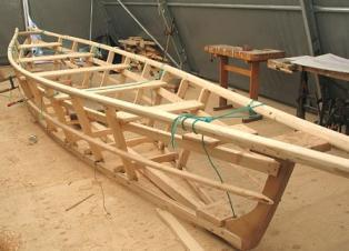 how to make a wooden boat