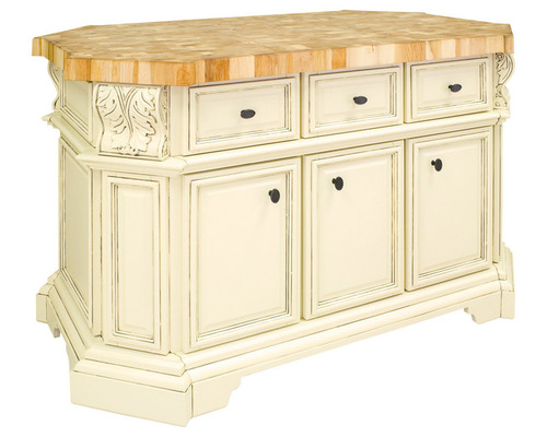 antique white furniture grade kitchen island