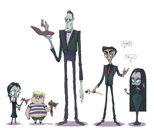 kooky n spooky por colorpulp