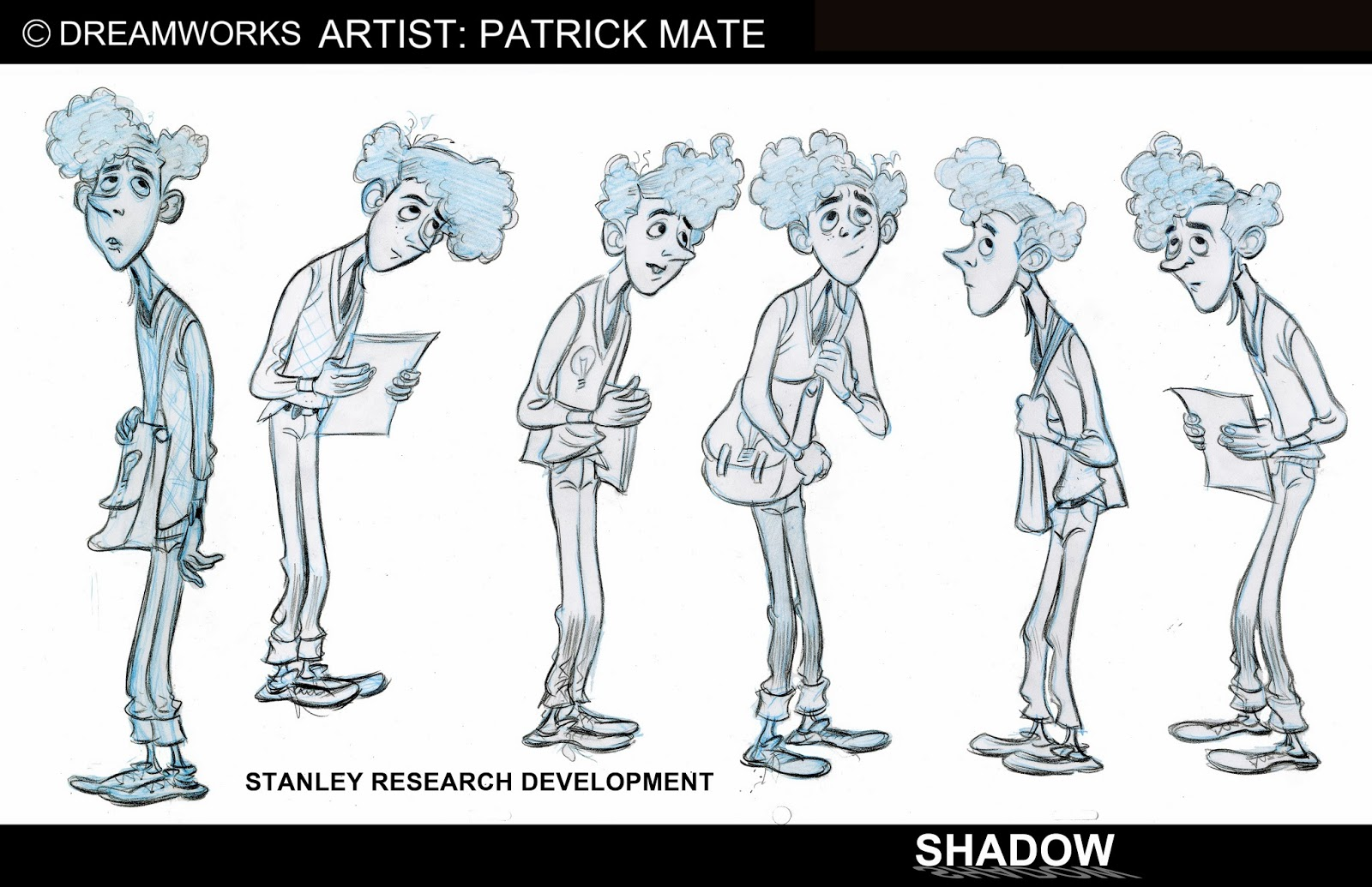 Professional Character Design Portfolio : Patrick mate character design portfolio