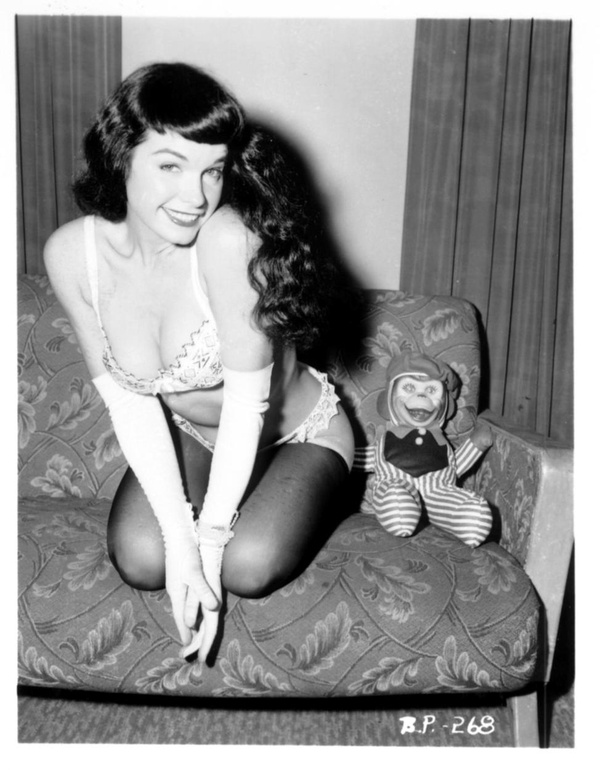 bettie page the pin up model