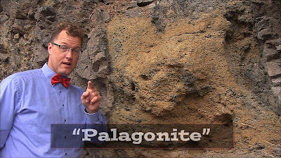 Nick Zentner provides detailed description of palagonite.
