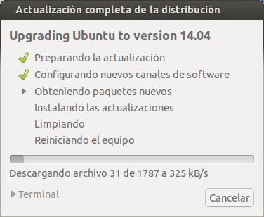 Actualizar de Ubuntu 13.10 a Ubuntu 14.04 LTS, actualizar ubuntu, ubuntu 14.04 paso a paso,