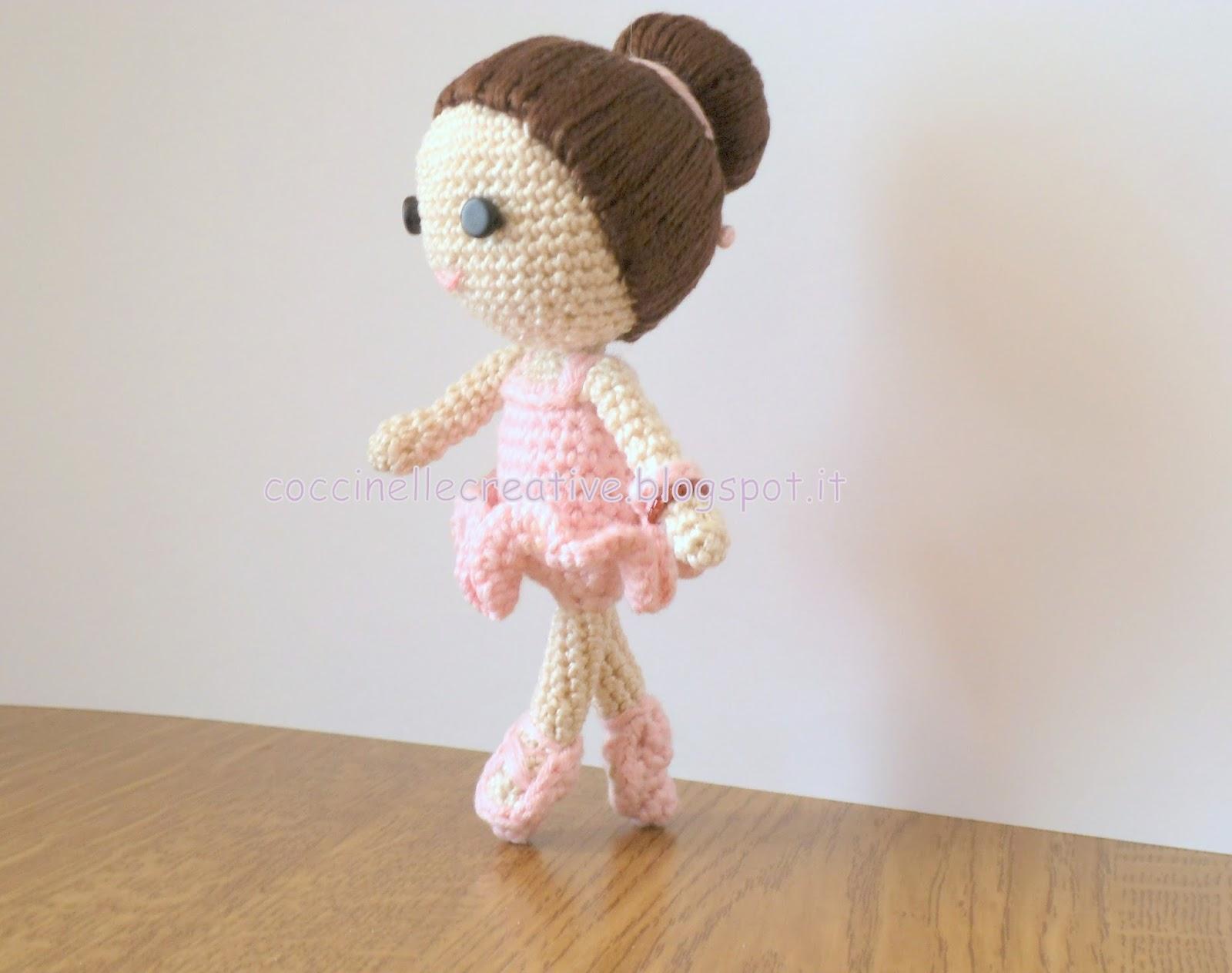 Amigurumi Tutorial Ballerina : Piccole coccinelle, la creativit? !! :