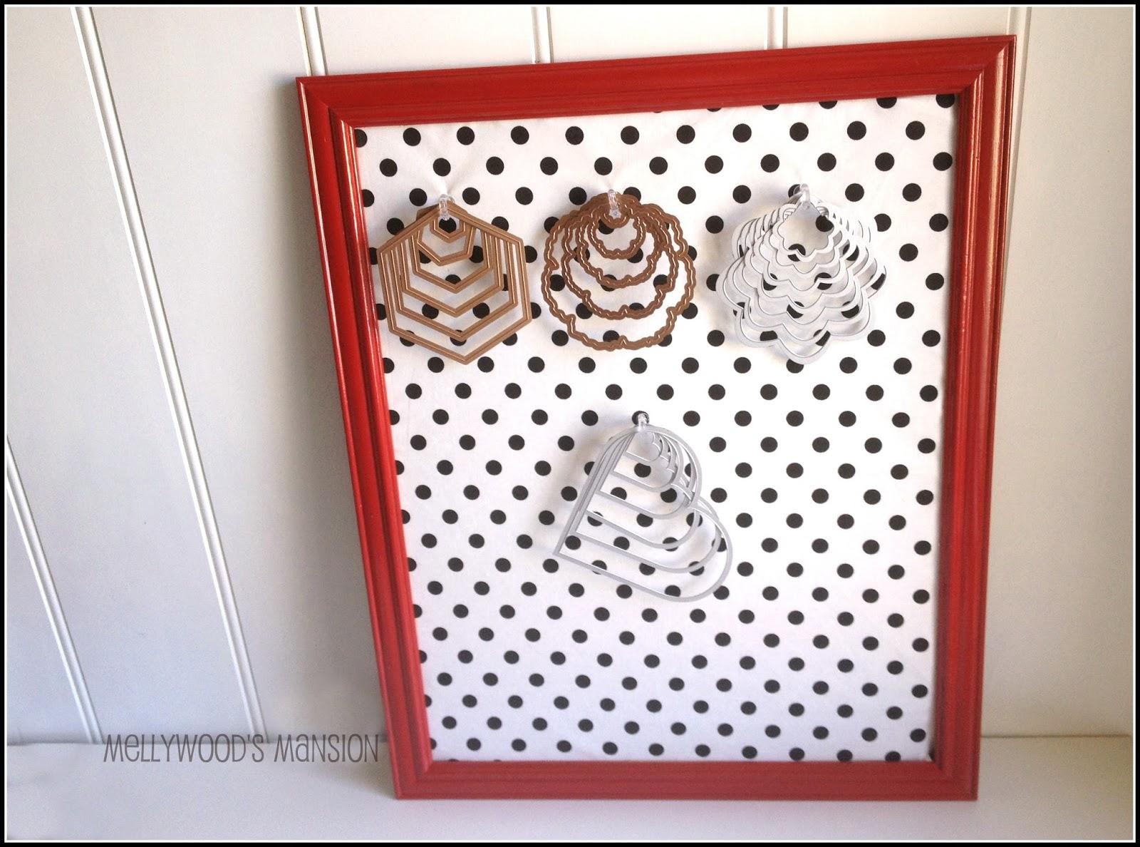 Juripunek craft room cork board die storage for Cork board crafts