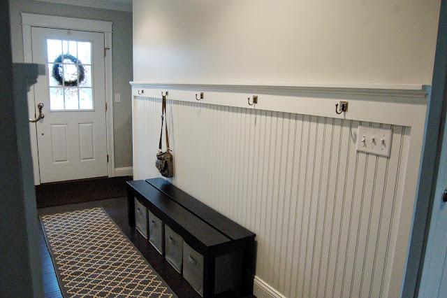 Hallway Entryway Beadboard