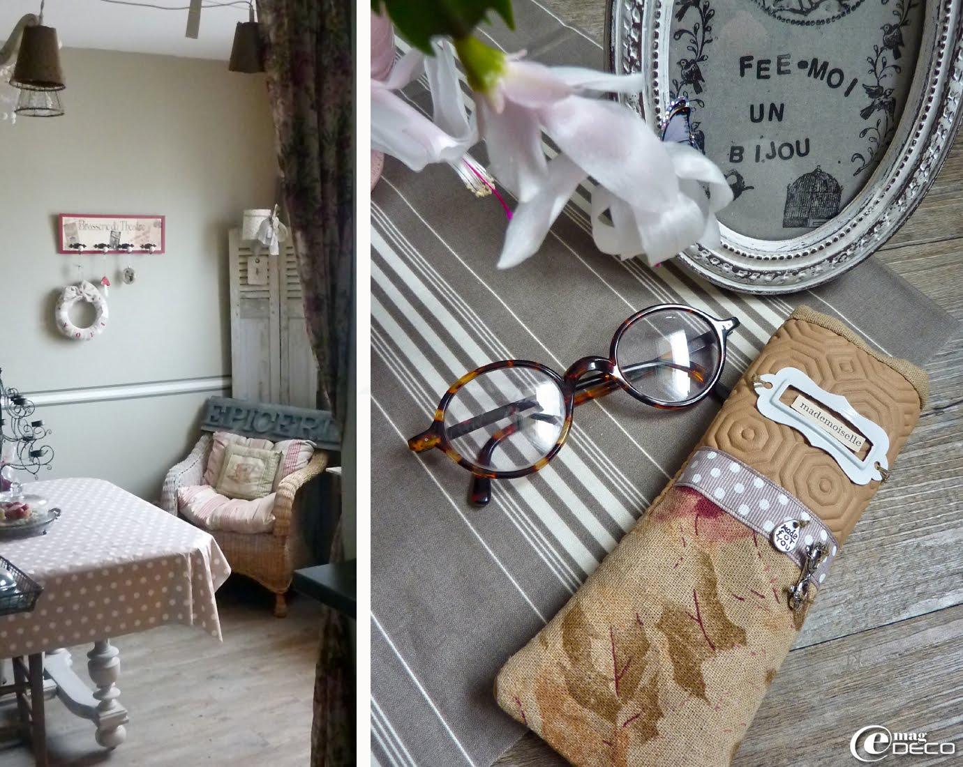 Un étui à lunettes en Bulgomme réalisé par Nathalie de fée-moi un Bijou