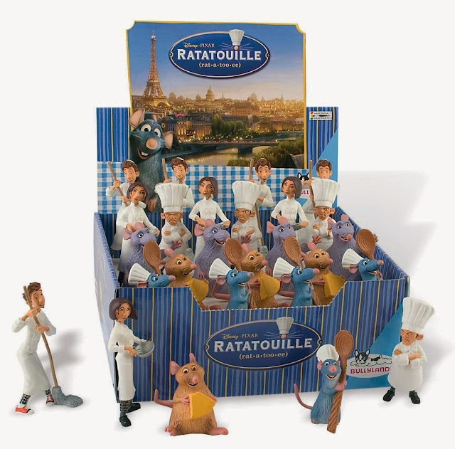 Figuras PVC Ratatouille caja