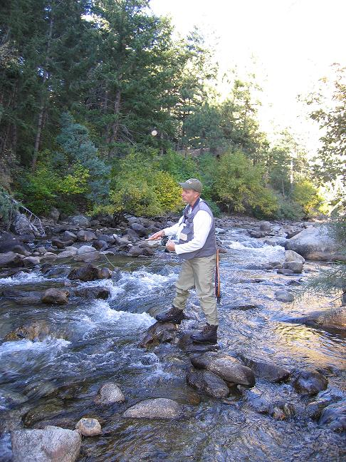 Fly fishing with brent cannon boulder creek colorado for Boulder creek fishing