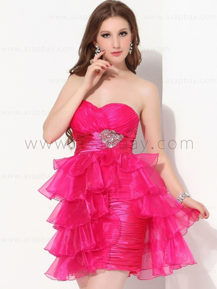 Quotes about: Sweetheart Pink Christmas Party Dresses & One shoulder ...