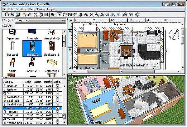 Bagi sobat yang ingin berkreasi untuk membuat desain rumah menggunakan Sweet Home 3D bisa berkunjung di situs resmi di .sweethome3d.com/index.jsp atau ...