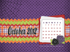 october 2012 desktop calendar thumbnail