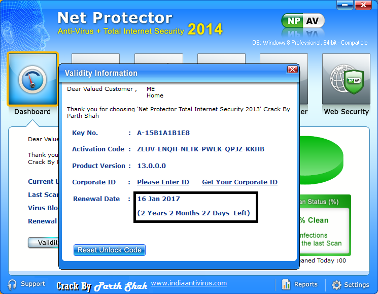 26 Nov 2013 Net Protector Antivirus has introduced a new security solution