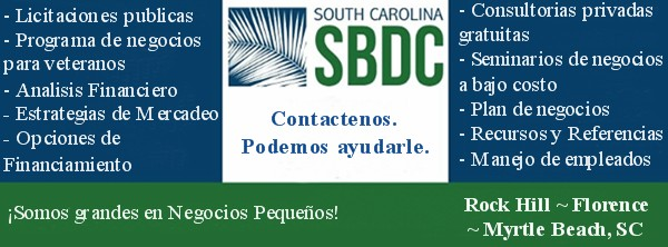 Florence SC - Ayuda para los empresarios hispanos