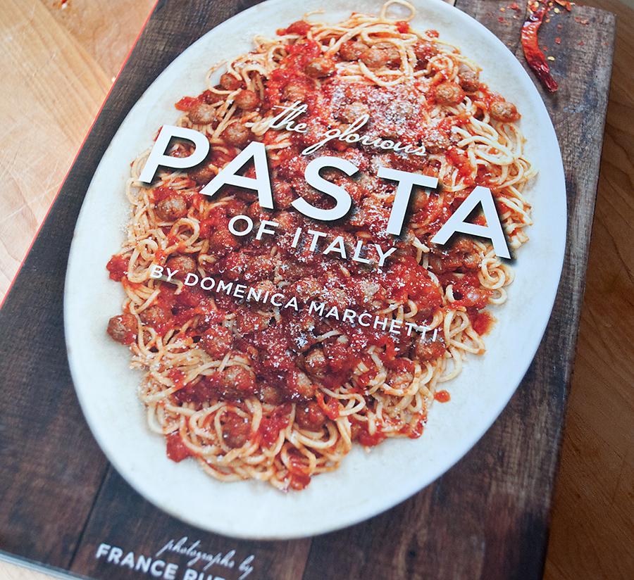 Italian Cookbook Cover : Lighter and local domenica marchetti s orecchiette with