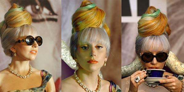 Gaya Rambut Teraneh Lady Gaga