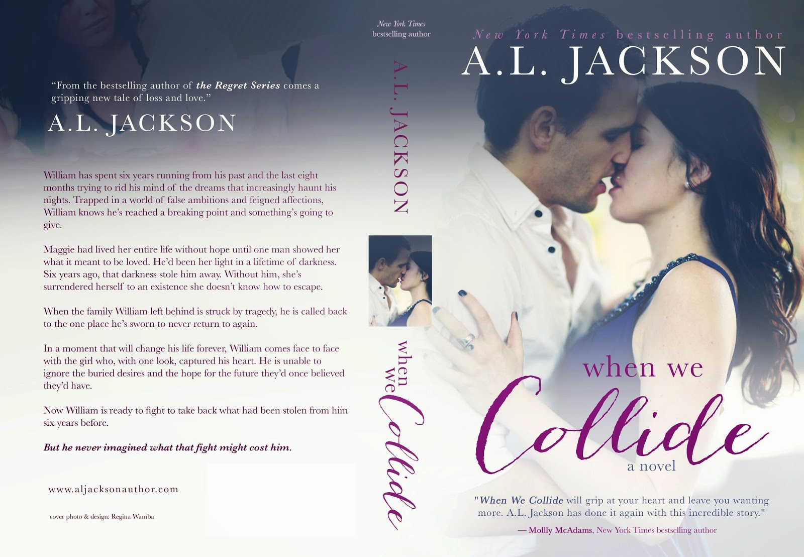 Cover Reveal: When We Collide by A.L. Jackson