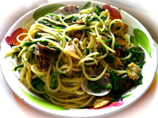 spaghetti_vongole_cime_di_rapa_broccoletti_broccoli_pasta