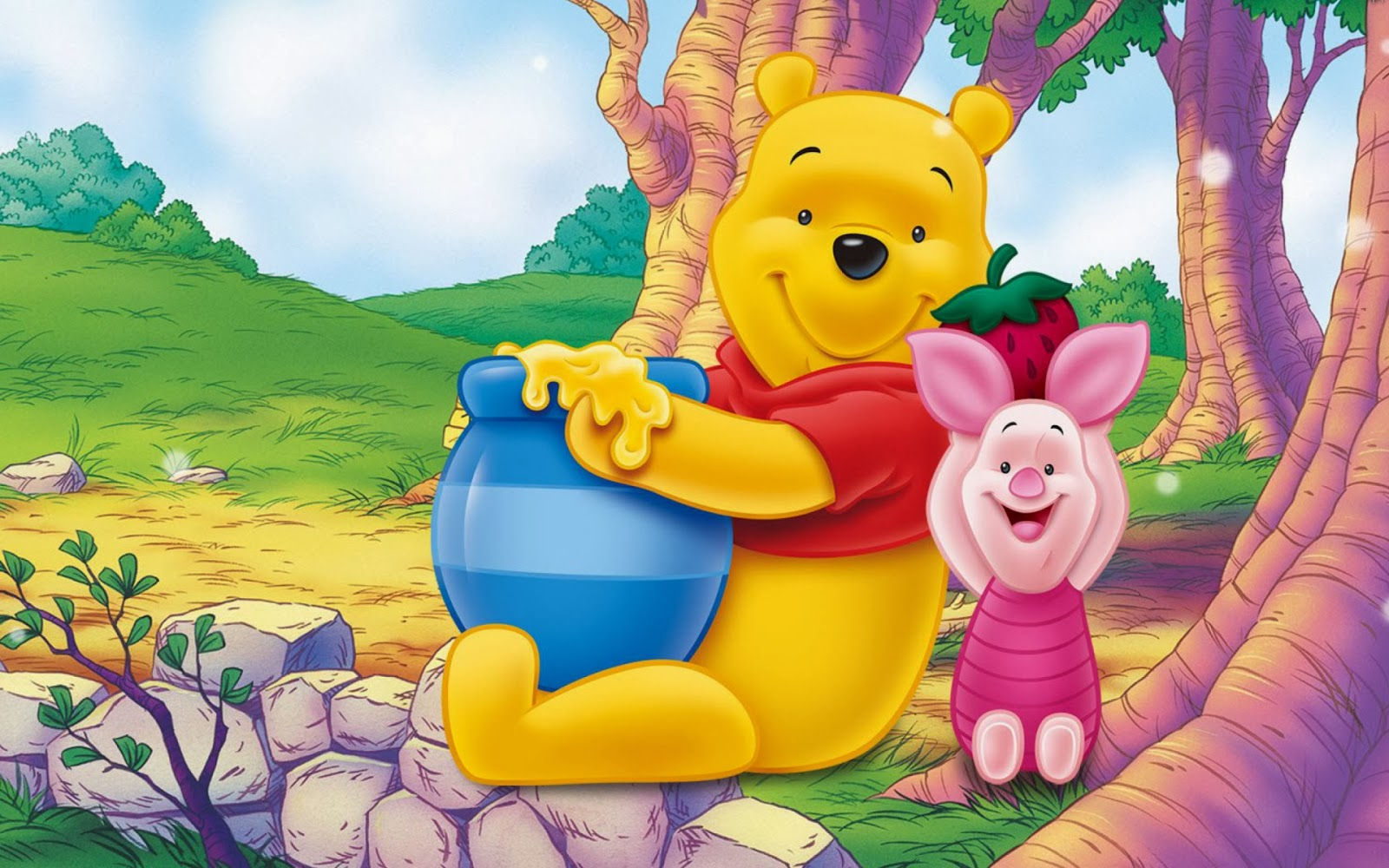 One hundred wallpaper funny winnie the pooh wallpapers hd - Winnie the pooh and friends wallpaper ...