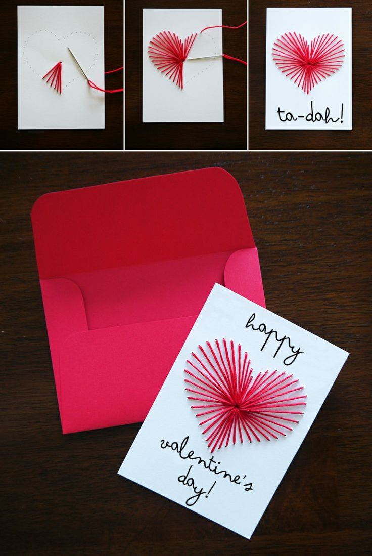 Handmade Valentines Day Card Designs