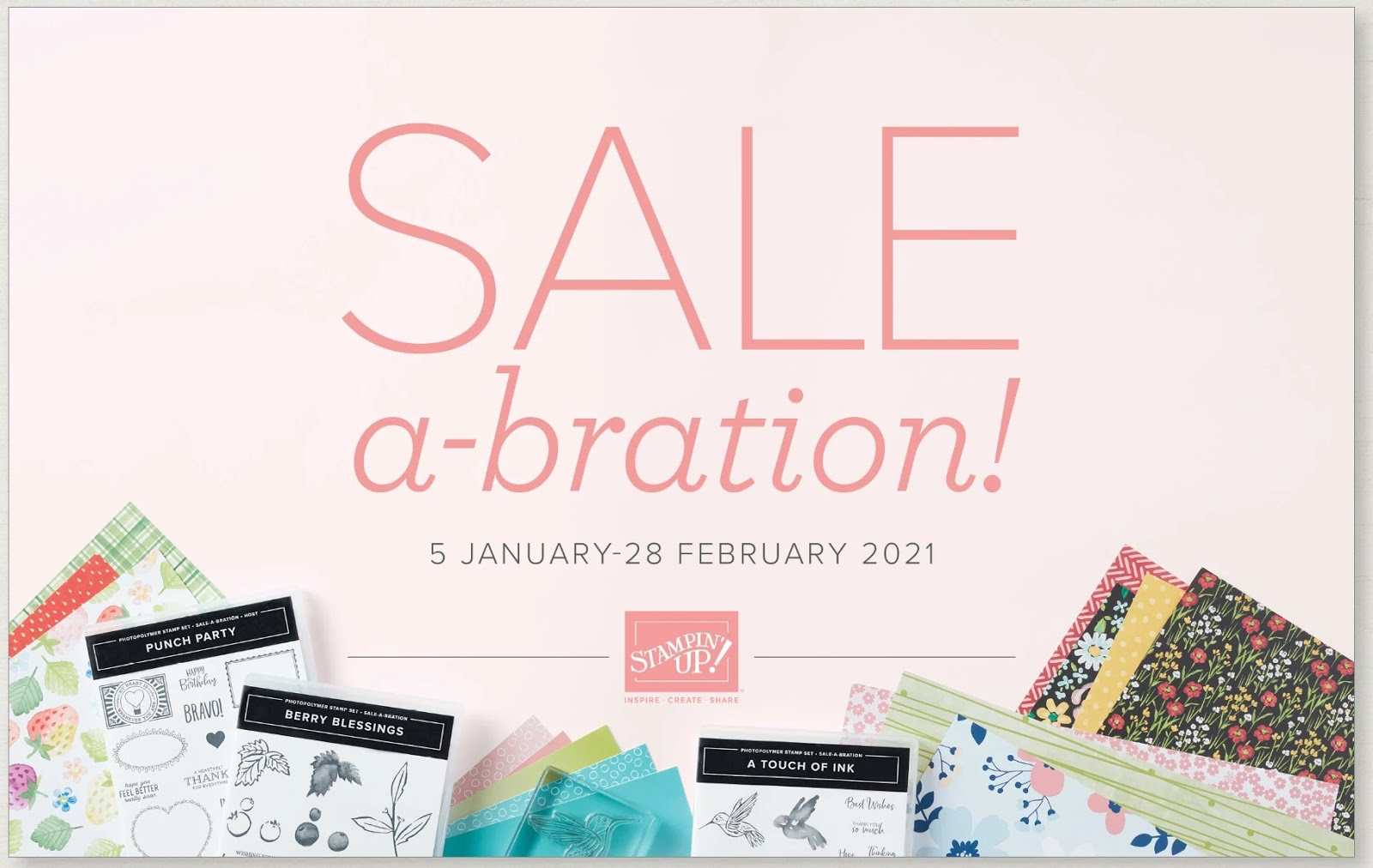 Sale-A-Bration Spring 2021