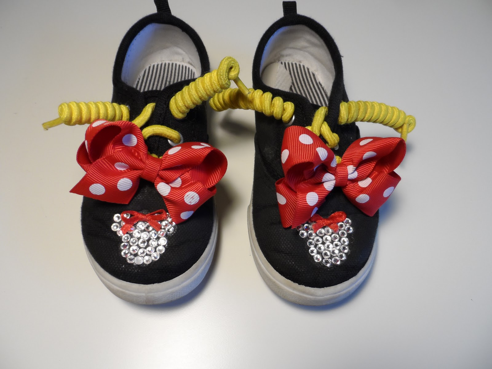 I m Quite Crafty Minnie Mouse Inspired Sneakers