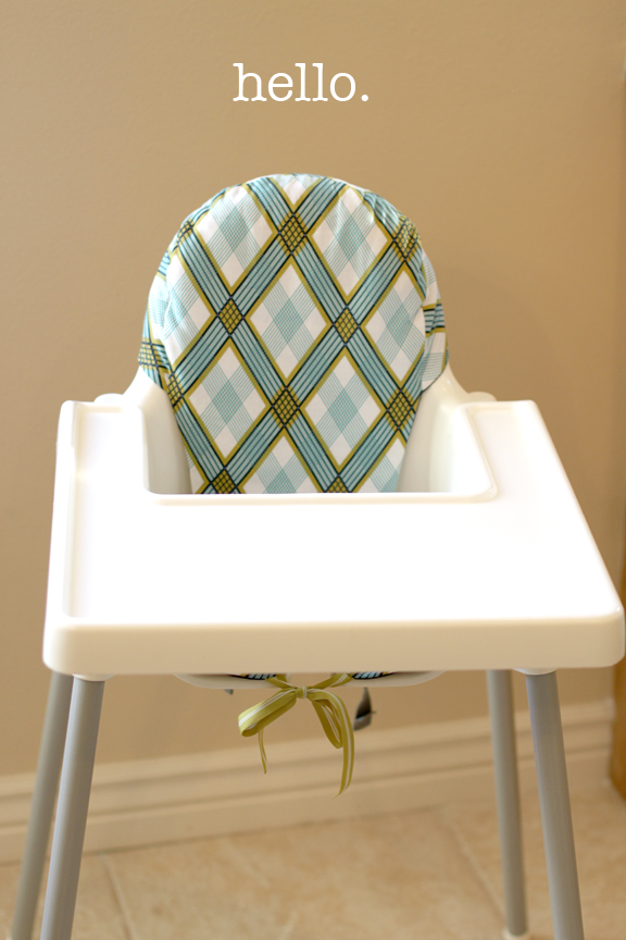 Wonderful Antilop Highchair Cushionu2014Take 2