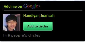 Juansah On Google+