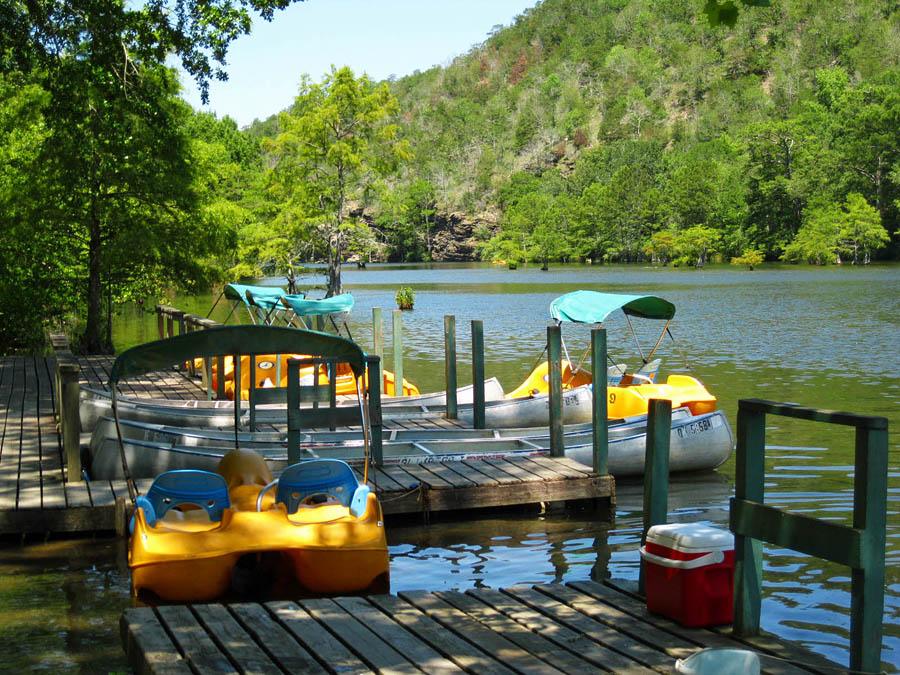 Incroyable Beavers Bend State Park Pedal Boat And Canoe Rentals