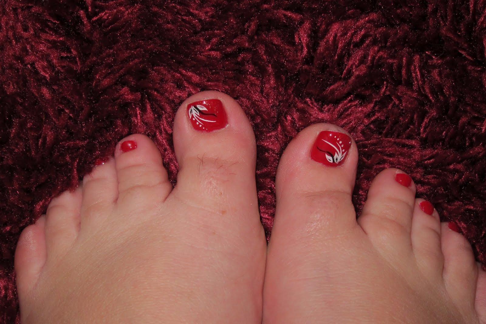 Nail Art World Gallery Of Nail Design Cute Spring Toes