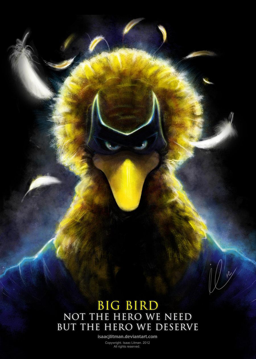 Evil Big Bird Das Artwork ist verdammt cool