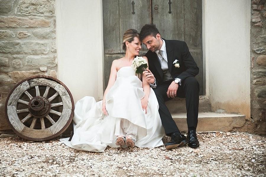 Fotografie sposi in agriturismo