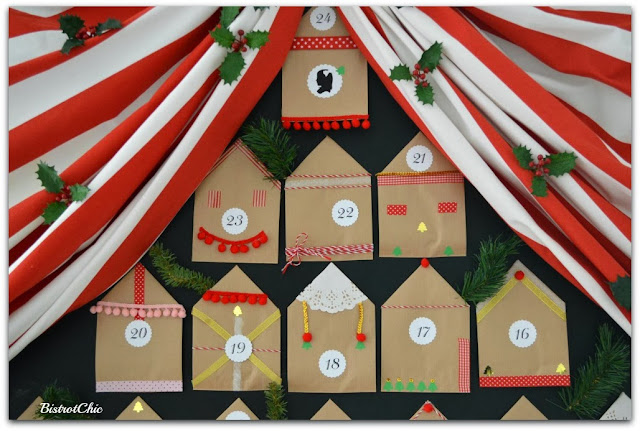 Advent Calendar by Bistrotchic