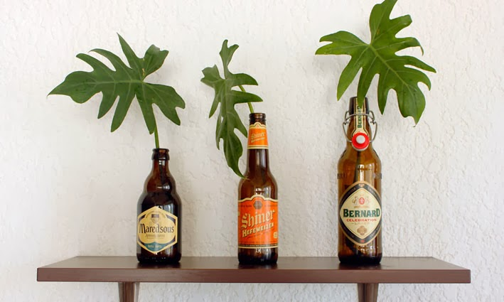 diy decoracin con botellas