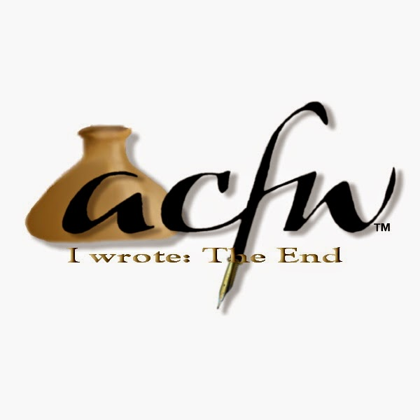 "ACFW's ""the end"" badge for completing Lead Me Home"