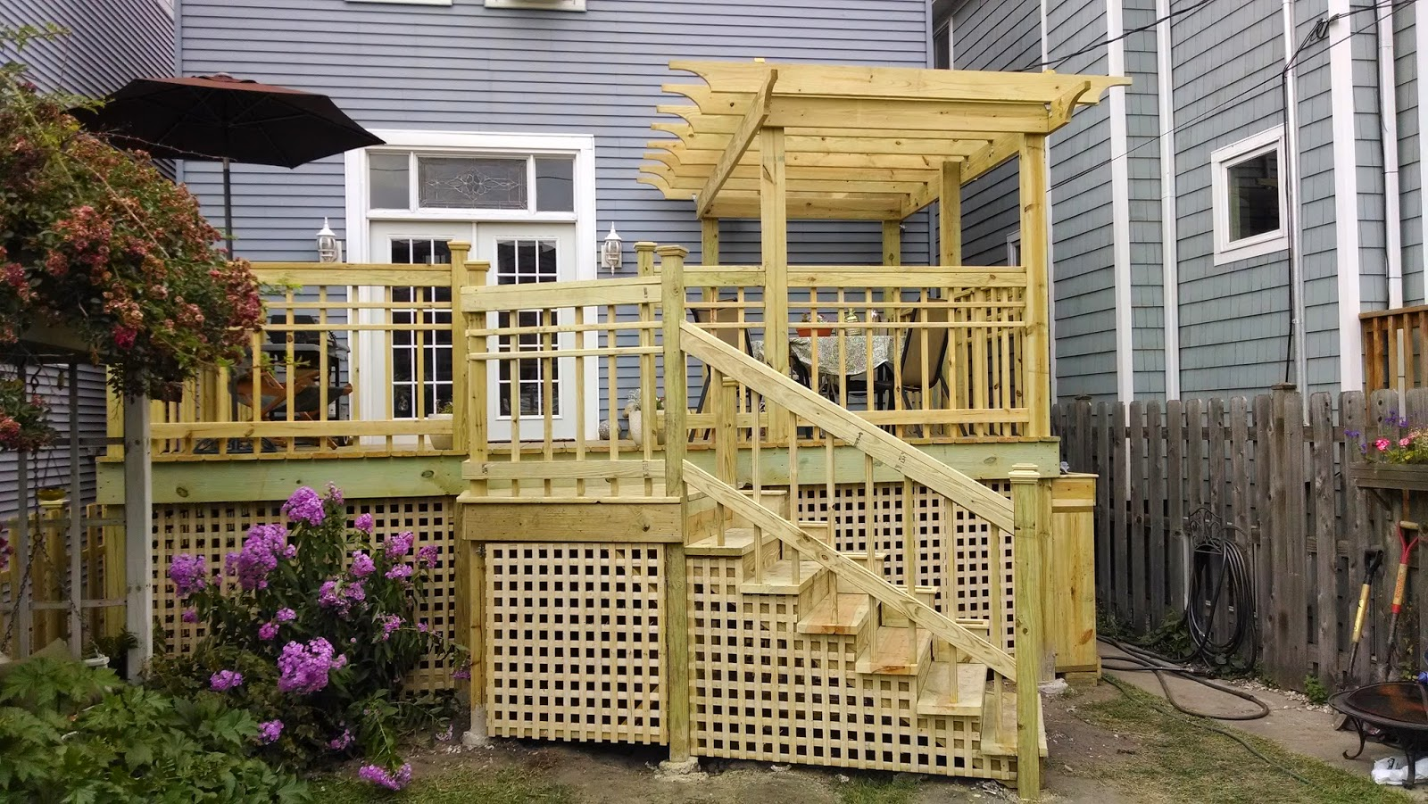Back Deck by I Like Mike's Construction
