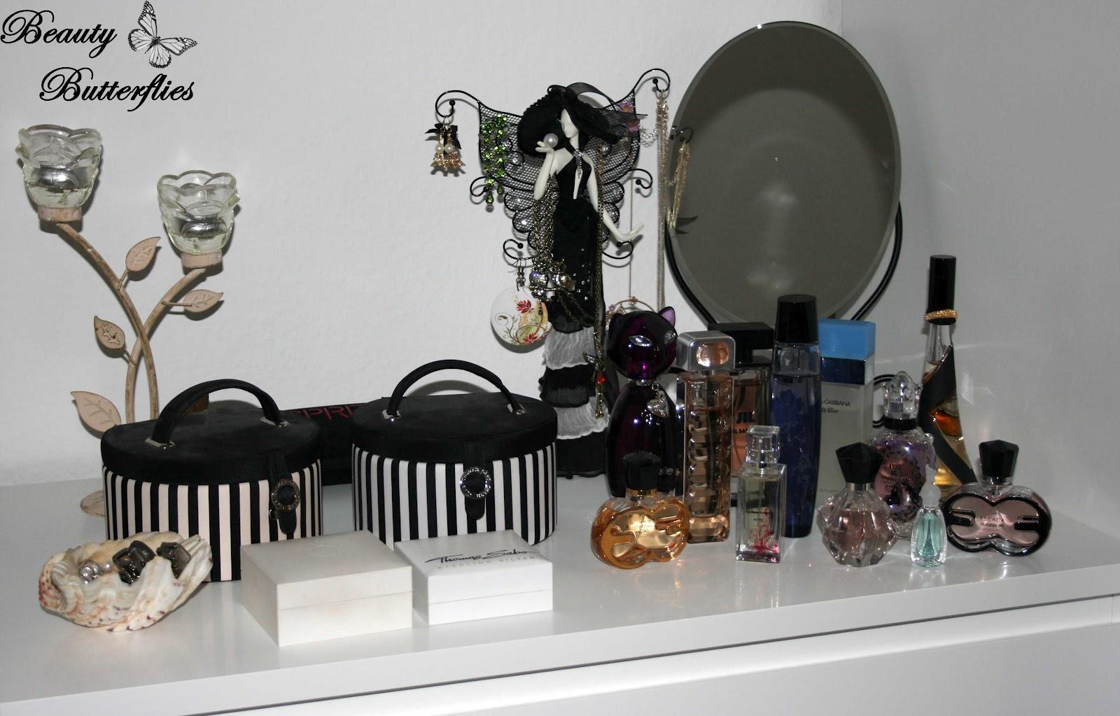 Deko tipp für beauty freaks teil i – parfum aufbewahrung