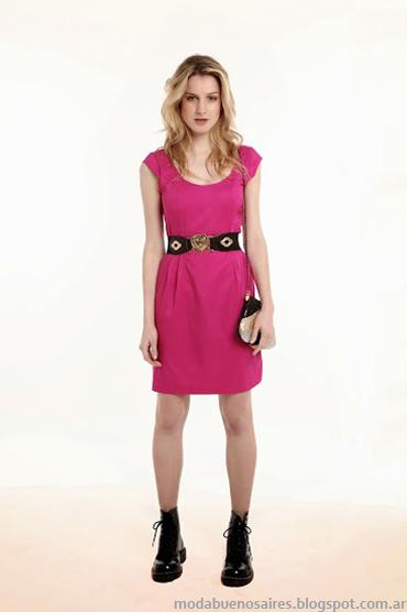 Sieben primavera verano 2014 vestidos. Colores de moda 2014.