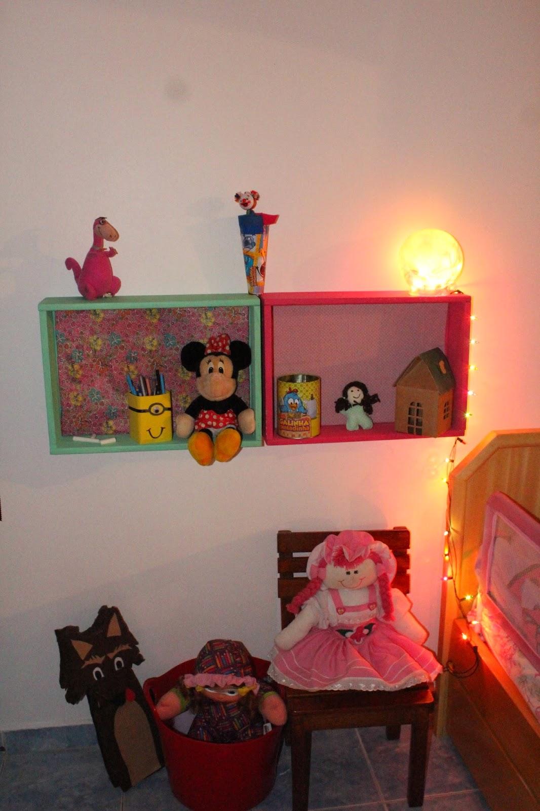 quarto para menina, lúdico, reciclado, rosa e verde menta