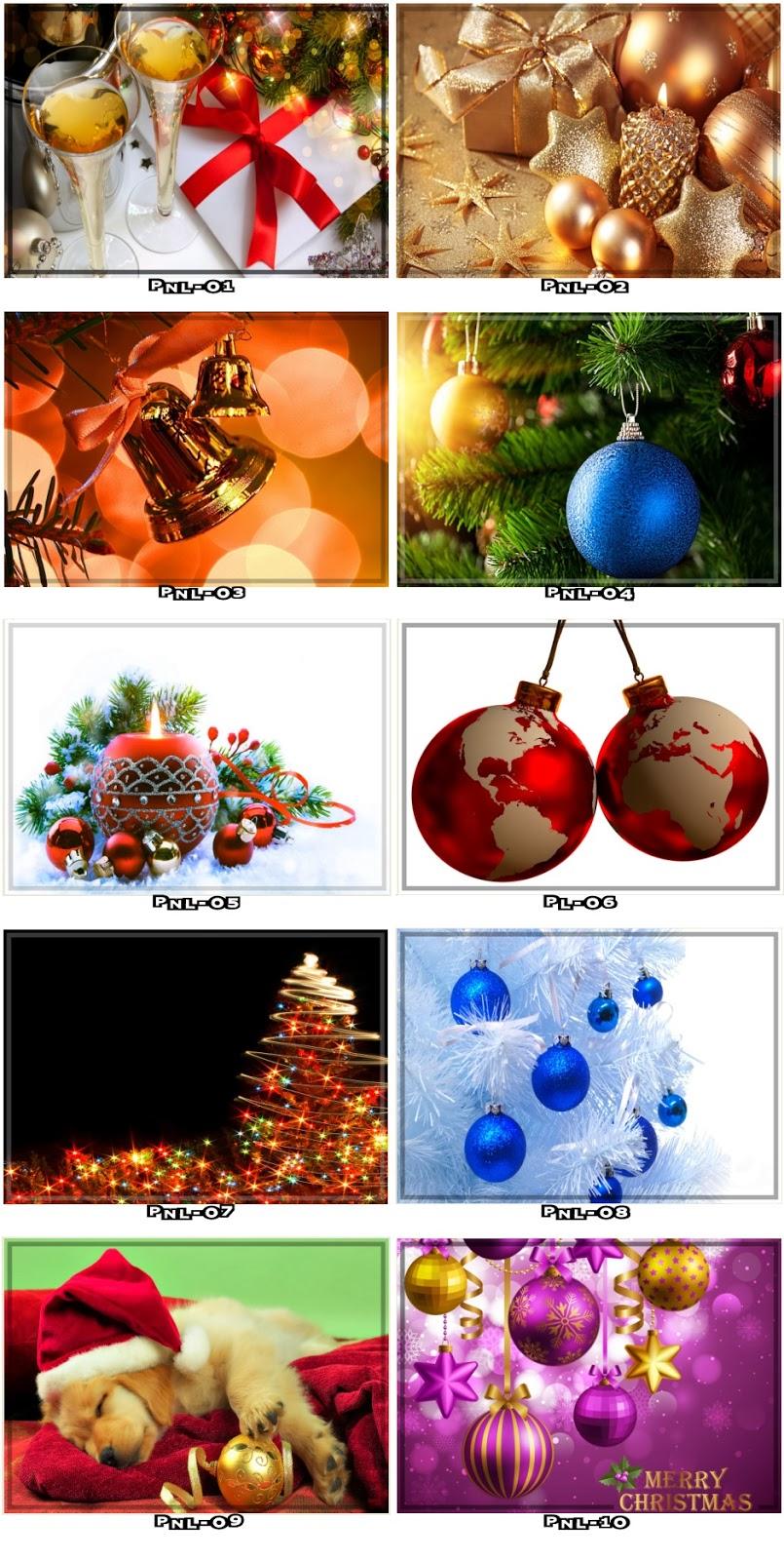 painel natalino