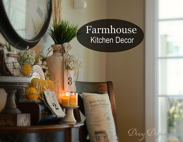 Dining Delight Farmhouse Kitchen Decor