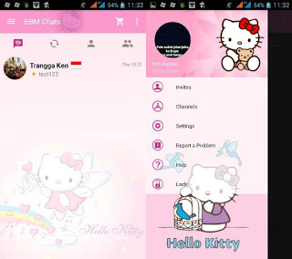 BBM Mod Hello Kitty 2.10.0.35 Clone Terbaru