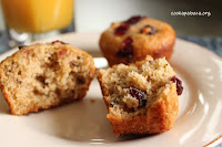 Moist low-fat muffins made with the goodness of wheat bran