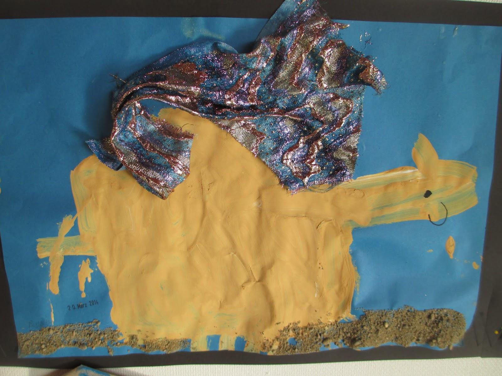 Kamel zeichnen