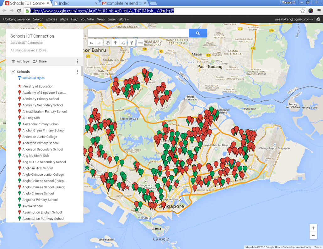 Google map layers and open data open source physics singapore all data are from the google search i merely made a layer to show most of the schools that i know exist in singapore so that i can verify the data in gumiabroncs Gallery
