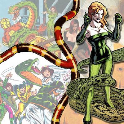 Princess Python Principessa Pitone Serpent Society