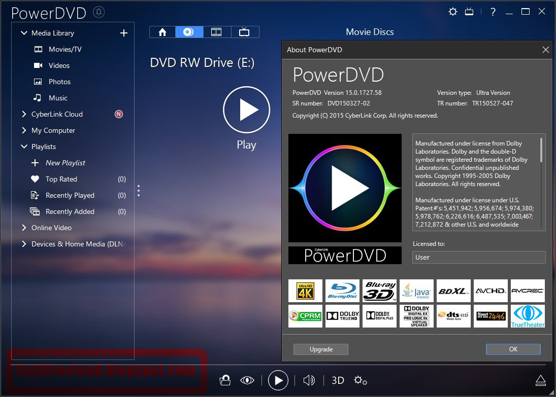 CyberLink PowerDVD Ultra 19 Free Download